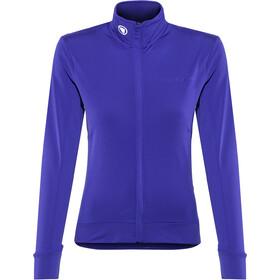 Endura Xtract Roubaix Koszulka rowerowa z długim rękawem Kobiety, cobalt blue